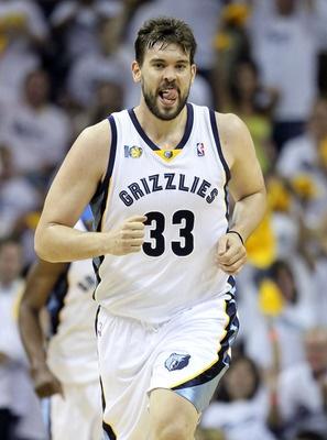 Marc Gasol---Memphis Grizzlies  Position: Center  Age: 27
