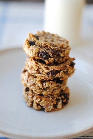 Eat Yourself Skinny » Guilt-Free Oatmeal Raisin Cookies