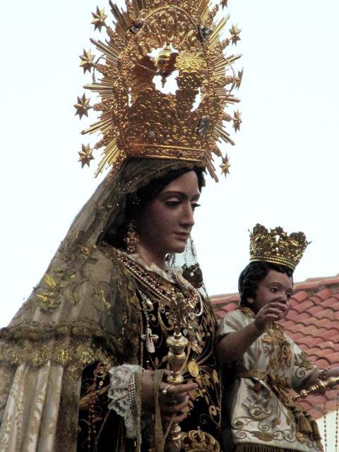 Málaga entera se rinde a la celebración de la festividad de la Virgen del Carmen