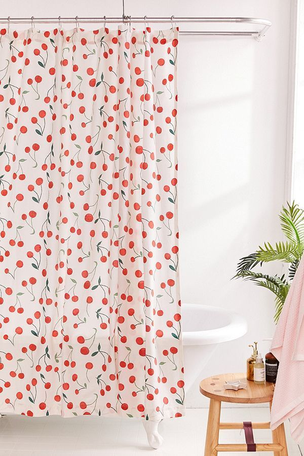 Allover Fruits Shower Curtain In 2020 Mold In Bathroom Renovation