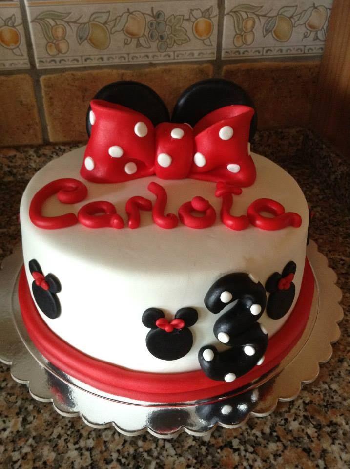 Bolo Minnie Mouse Bolos De Anivers 225 Rio Formiga Animada
