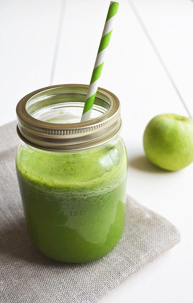 Make your own green juice. Recipe on my blog:  http://heyrita.co.uk/2014/09/basic-green-juice/