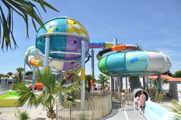 Polin Brings its Fusion Waterslides to France