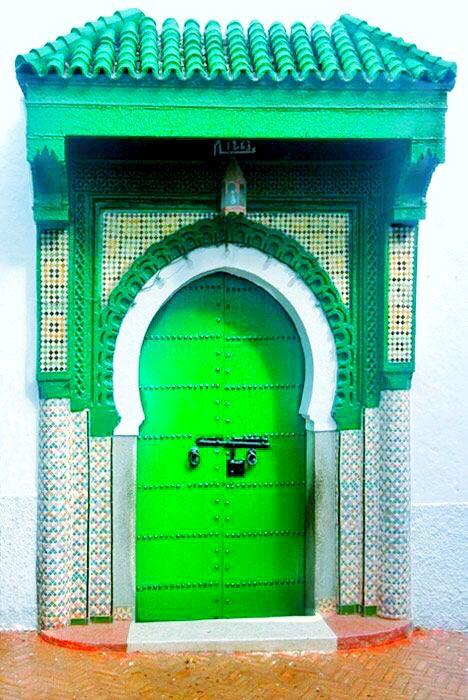 Door to a Tangiers mosque