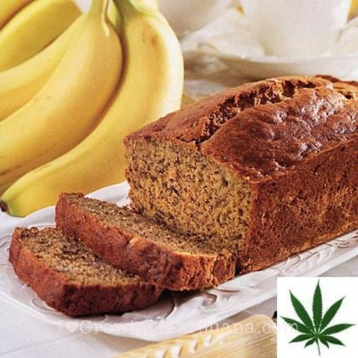 Marijuana Recipe – Banana Bread