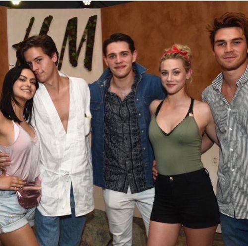 Cole Sprouse Lili Reinhart And Kj Apa Image Riverdale