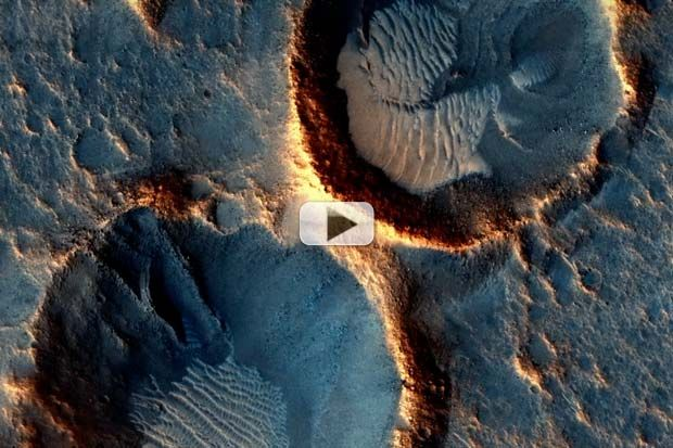 The Mars Reconnaissance Orbiter's HiRise imager has delivered detailed high resolution imagery since taking settling into orbit in March 2006.