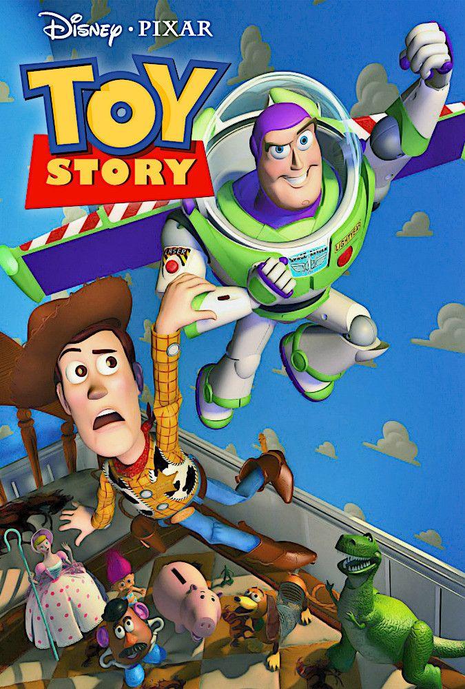Sonoras y originales Toy story movie, Toy story 1995