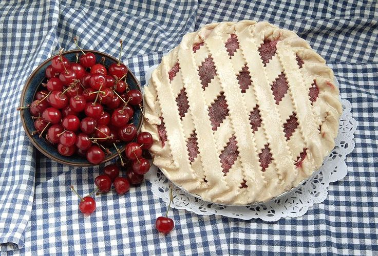 Made from scratch cherry pie from Ever So Humble Pie Company, Walpole MA: http://www.visitingnewengland.com/pie.html