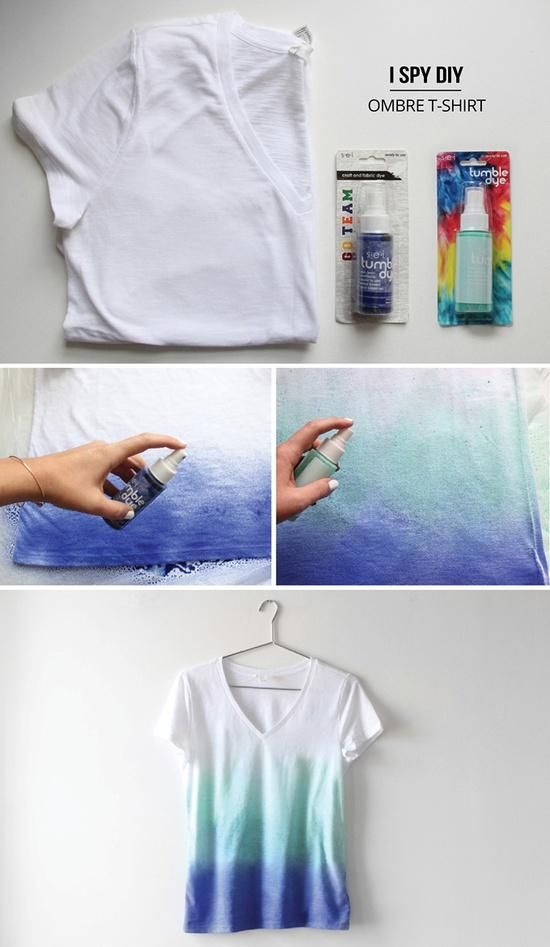 DIY Projects: Dye Your T-shirts                              …