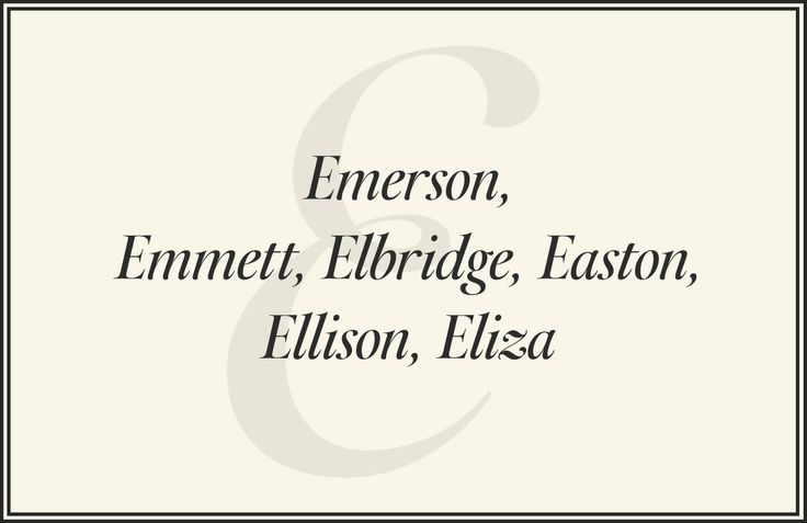 Preppy Names - Preppy Baby Girl and Boy Names - Town & Country