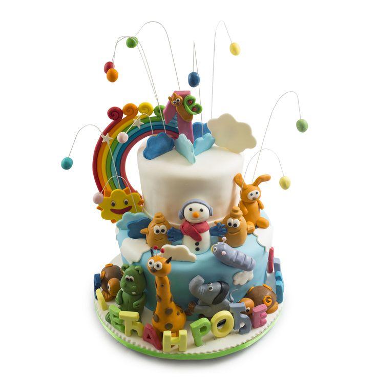 Baby Tv Torte Za Prvi Rođendan Birthday Cake Torte Cake