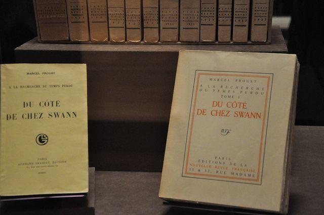 Proust Opening at The Morgan Library, 2/2013.  All BnF works:   @GallicaBnF: 10 juillet 1871, naissance de Marcel Proust. Retrouvez 107 (!) de ses manuscrits dans #Gallica. ALL MANUSCRIPTS: https://mobile.twitter.com/GallicaBnF/status/354868198857904128