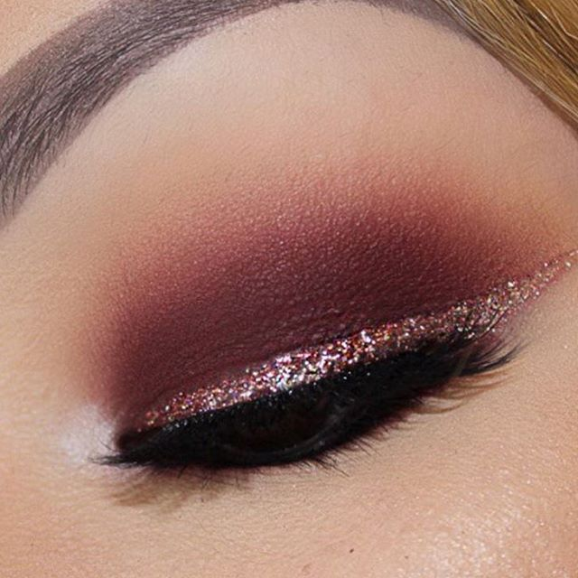 Glitter wing. I absolutely love this except I would blend the top out more to cover more of the eye lid