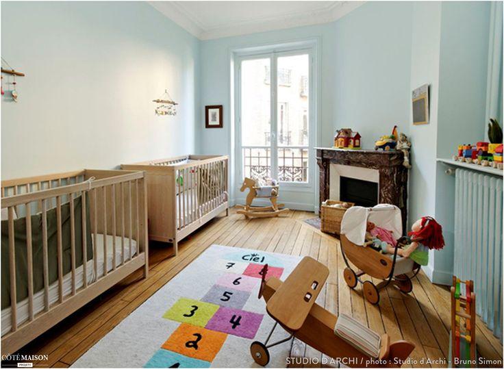 Amenagement petite chambre parent bebe avec des id es int ressantes pour la - Amenagement d une chambre bebe dans une chambre parents ...