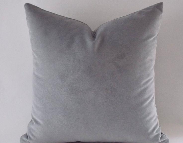 Grijs fluweel kussenslopen grijze kussens decoratieve door mertakkul     €24.21 X2
