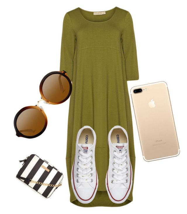 """Untitled #95"" by skirtsandshirts on Polyvore featuring Isolde Roth and Converse"
