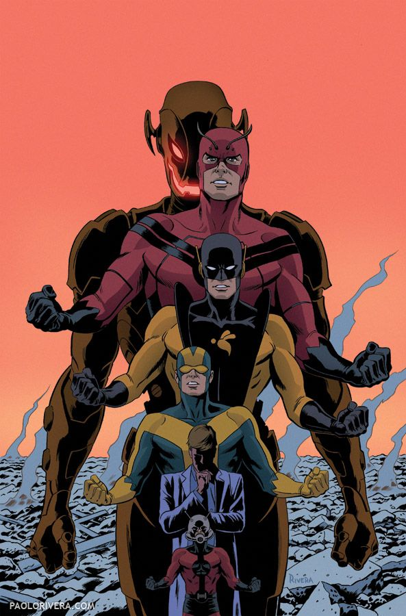 Fashion and Action: The Many Faces of Hank Pym by Paolo Rivera