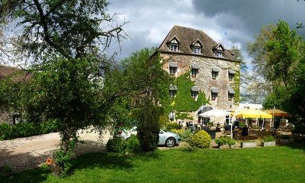 Saint-Gervais-en-Vallière : 1 nuit avec petit déjeuner, dîner en option, au Moulin d'Hauterive pour 2 personnes: #SAINTGERVAISENVALLIÈRE…