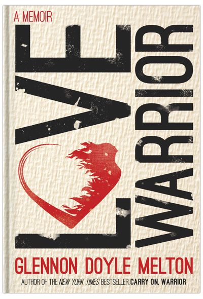Introducing you to my new book LOVE WARRIOR today. I am scared. Please don't miss this.