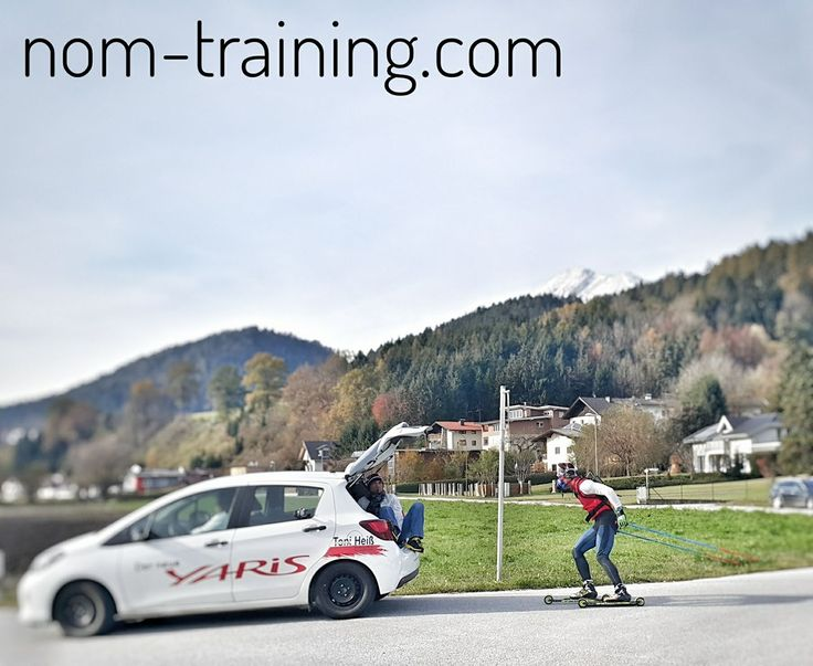 Roller skiing athlete performance assessed in the field (Austrian Alps) with the new COSMED wearable spiroergometry device (www.cosmed.com/wearit) - real conditions count for real values!