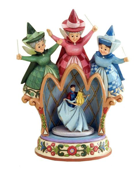 Princess Aurora and Prince Phillip - The Green Fairy (The Red Fairy) The Blue…