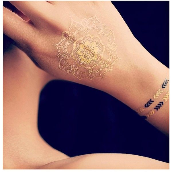 Lottie Limited Edition Treasure Tattoos (€13) ❤ liked on Polyvore featuring beauty products, nail care, nail polish, tattoos, black nail polish, metallic black nail polish and metallic nail polish