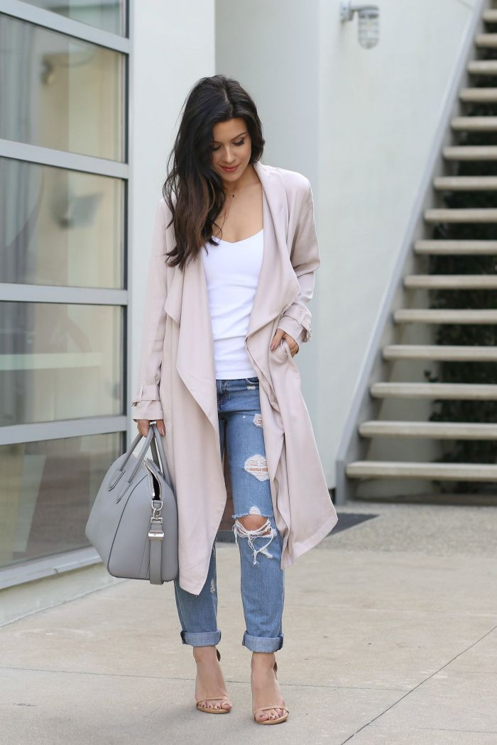 Spring Style // The Trench Coat Edit - Andee Layne  Waterfall trench coat styling