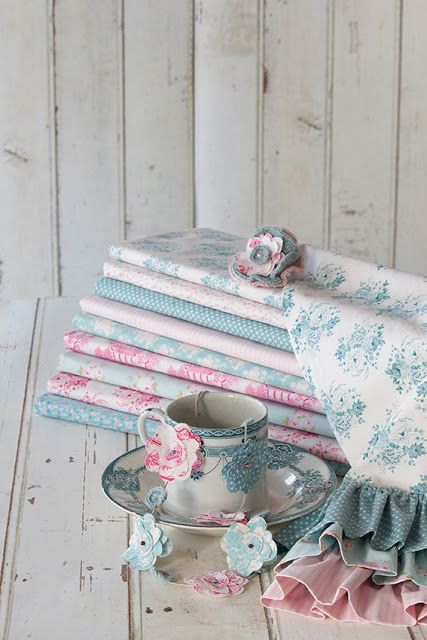 Tilda Collection Fabrics and Crafts Country Escape and The Seaside Life Spring Summer 2013