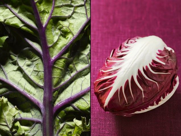Radicchio + Kale = A Stronger Skeleton | Stay-Well Strategy: To shore up your skeleton, toss these tasty greens together in a salad. | From: ivillage.com