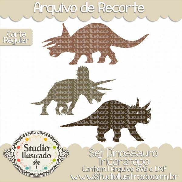 Triceratops Dinosaur Set, Set Dinossauro Tricerátopo, Pré-Historia, Chifres…