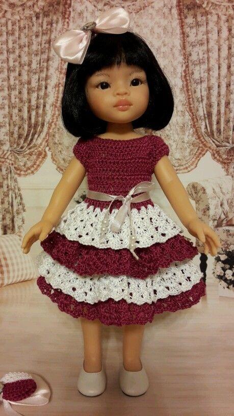 Платье для Паолочки / Одежда для кукол / Шопик. Продать купить куклу / Бэйбики. Куклы фото. Одежда для кукол