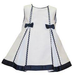 vestidomarinero niña   Vestido Marinero Dos Lazos BAYÓN