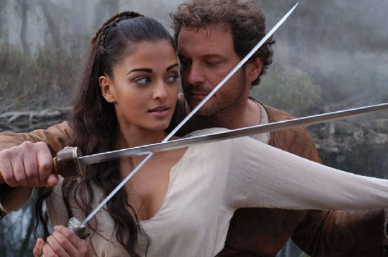 Colin Firth and Aishwarya Rai in 'The Last Legion' ~ OMG Colin, so would love to cross blades with you...