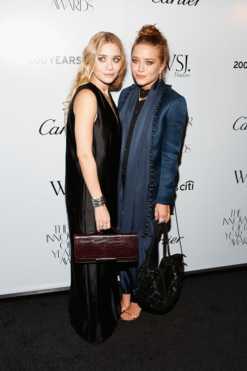 25 Of the best style shots of Mary-Kate and Ashley Olsen via Modedamour.com