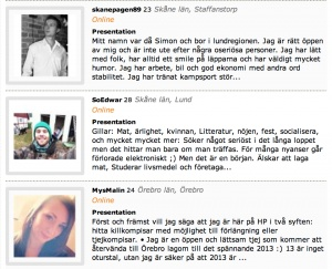 swedish dating site mötesplattsen