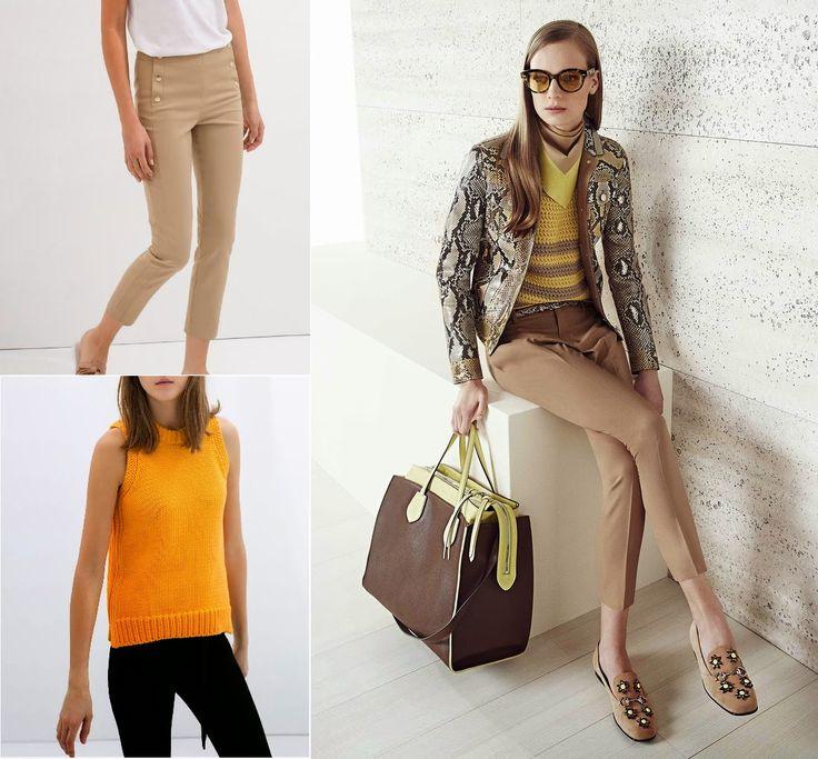 Jersey de crochet y pantalón pitillo, ambos de Zara  #Gucci #inspiration http://cuchurutu.blogspot.com.es/2014/06/gucci-inspiration.html