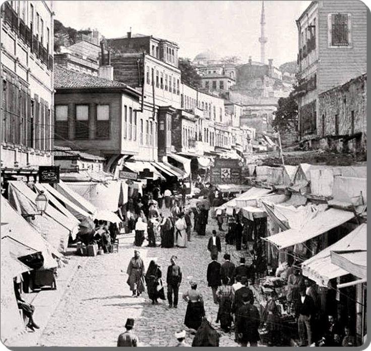 Mahmutpaşa, İstanbul 1880