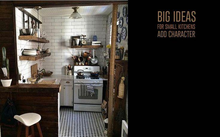 ... 小さいキッチン向けの