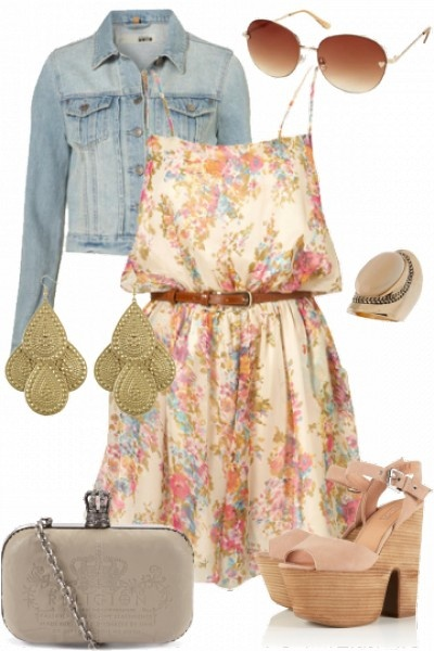 Outfit styled on Fantasy Shopper #fashion #style a light tan pair of cow boy boots and I'd wear this outfit every day