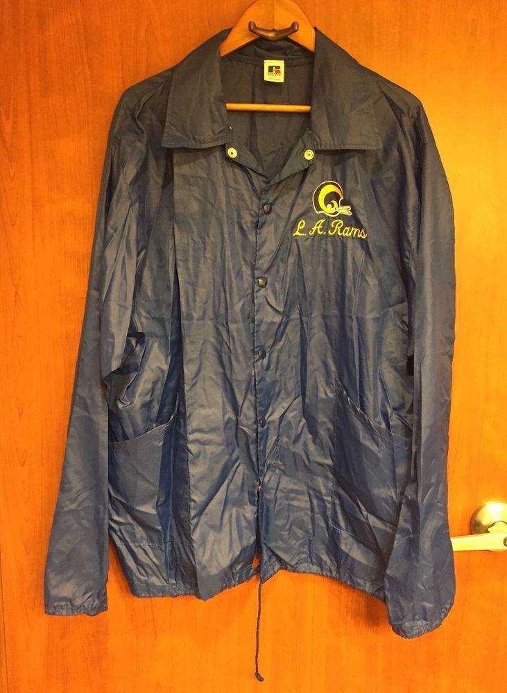 premium selection 7f69b 64632 ☀Men's Vintage NFL Los Angeles Rams☀Nylon Jacket Sz XL ...