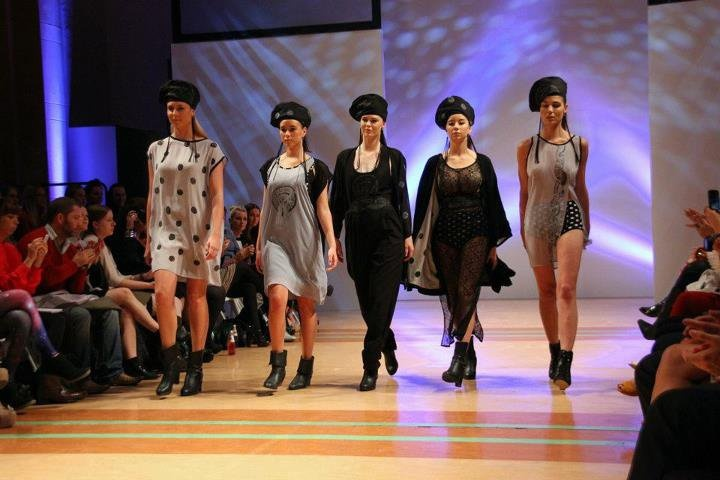 The Love Hotel Beret Love Hotel. Wellington Fashion Week 2012