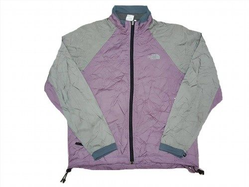 30.00$  Buy here - http://viufs.justgood.pw/vig/item.php?t=um5okgx4163 - THE NORTH FACE Zip Up Style Multi Colour Sweater Windbreaker Women Jacket Size L 30.00$