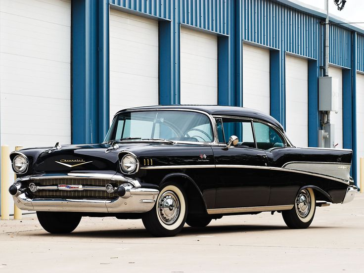 1957 Chevrolet Bel Air Sport Coupe  | Amelia Island 2013 | RM AUCTIONS  283 bhp, 283 cu. in. OHV V-8 engine with Rochester fuel injection