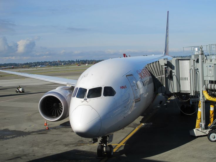 Hainan Airlines Boeing 787-800 at Seattle-Tacoma International Airport SEA