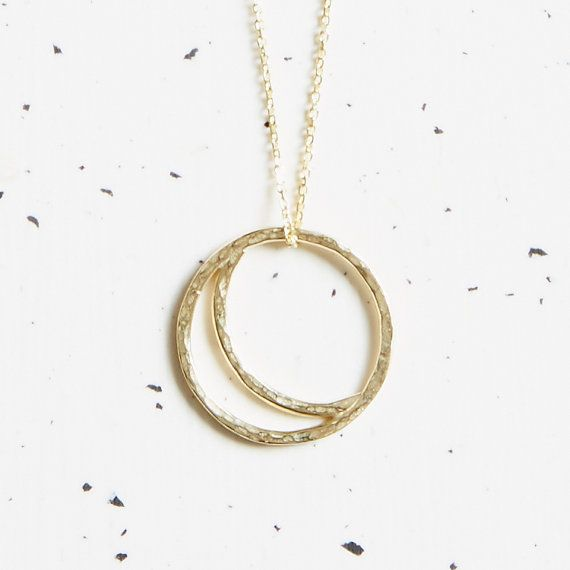 9ct Gold Crescent Moon Necklace