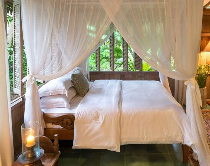 Tropical | Bedroom | Puri Sayan | Bali | Skylight Architecture