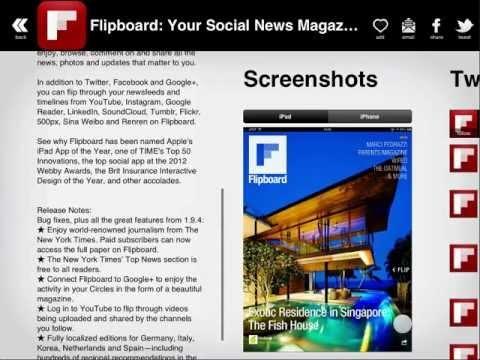 Discovr Apps for iOS - Screencast