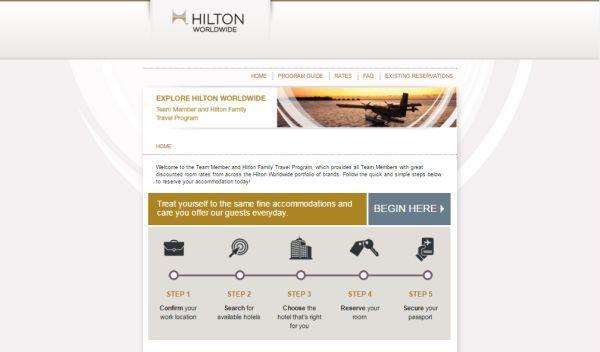 www.Hilton.com/TMTP: Hilton Team Member Travel Program ...