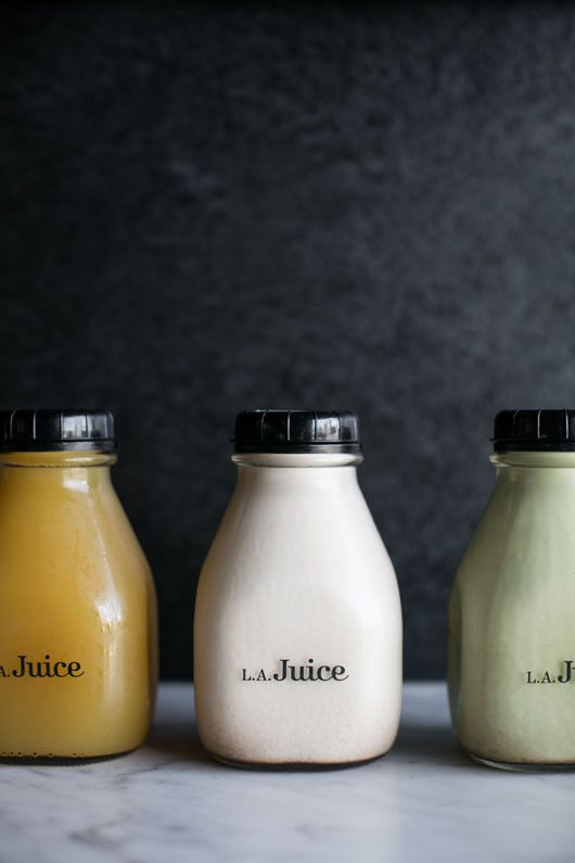L.A. Juice. (More design inspiration at www.aldenchong.com) #packaging